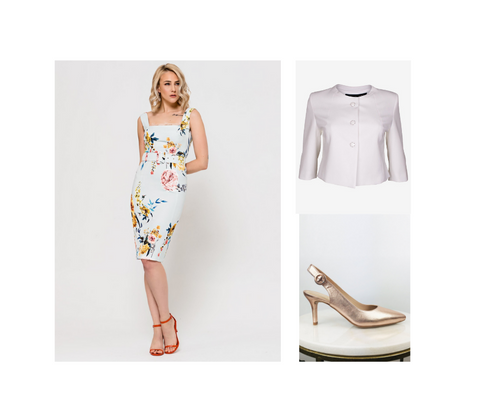 Berties Clothing Wedding Guest Glam Outfit Two