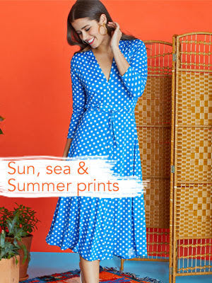Sun, Sea And Summer Prints