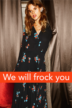 We will frock you