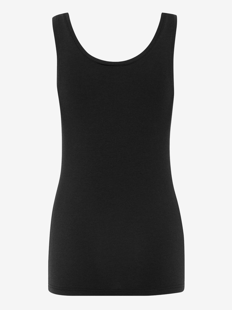 B Young Pamila Vest Top Black