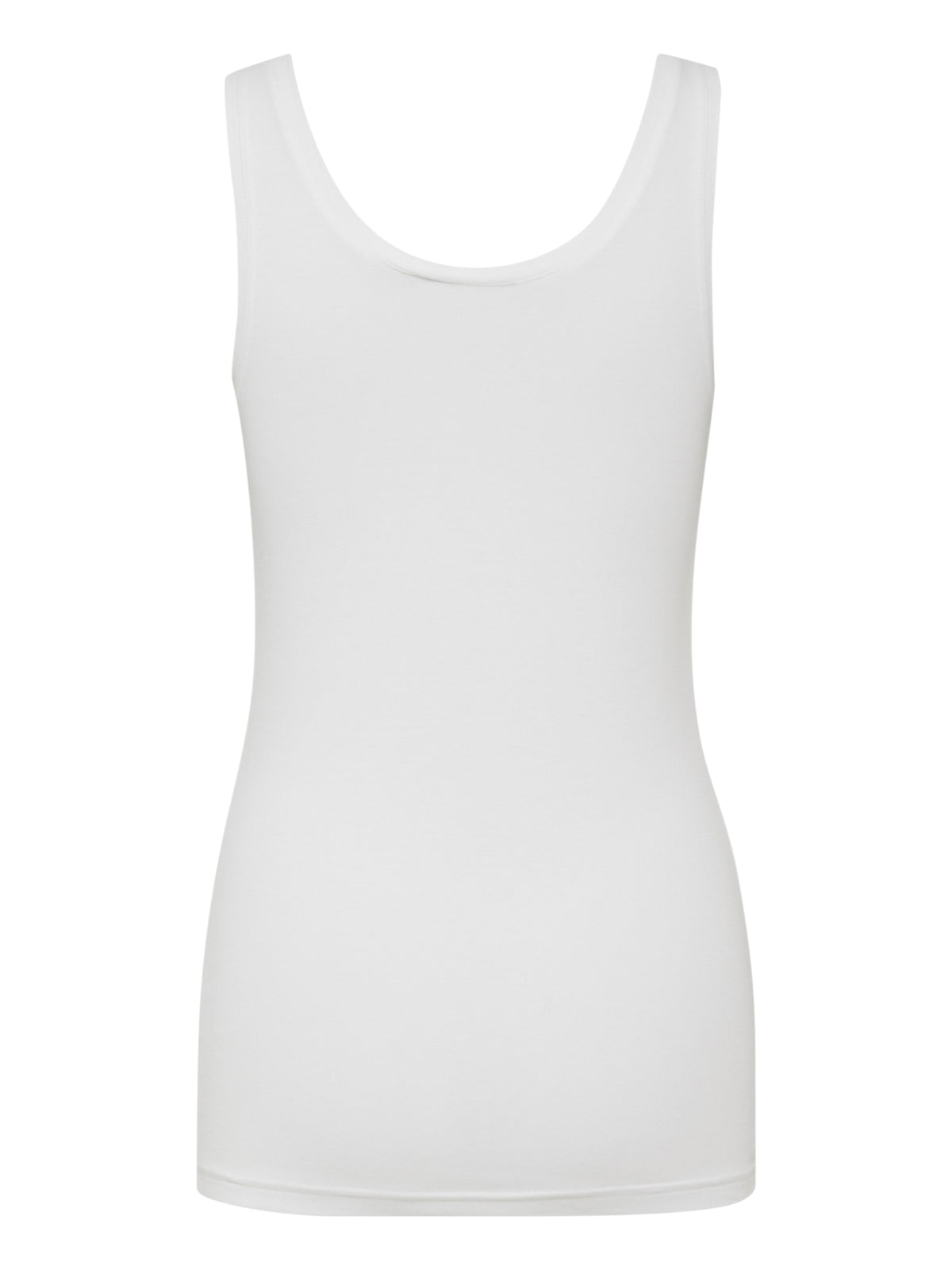 B Young Pamila Vest Top White