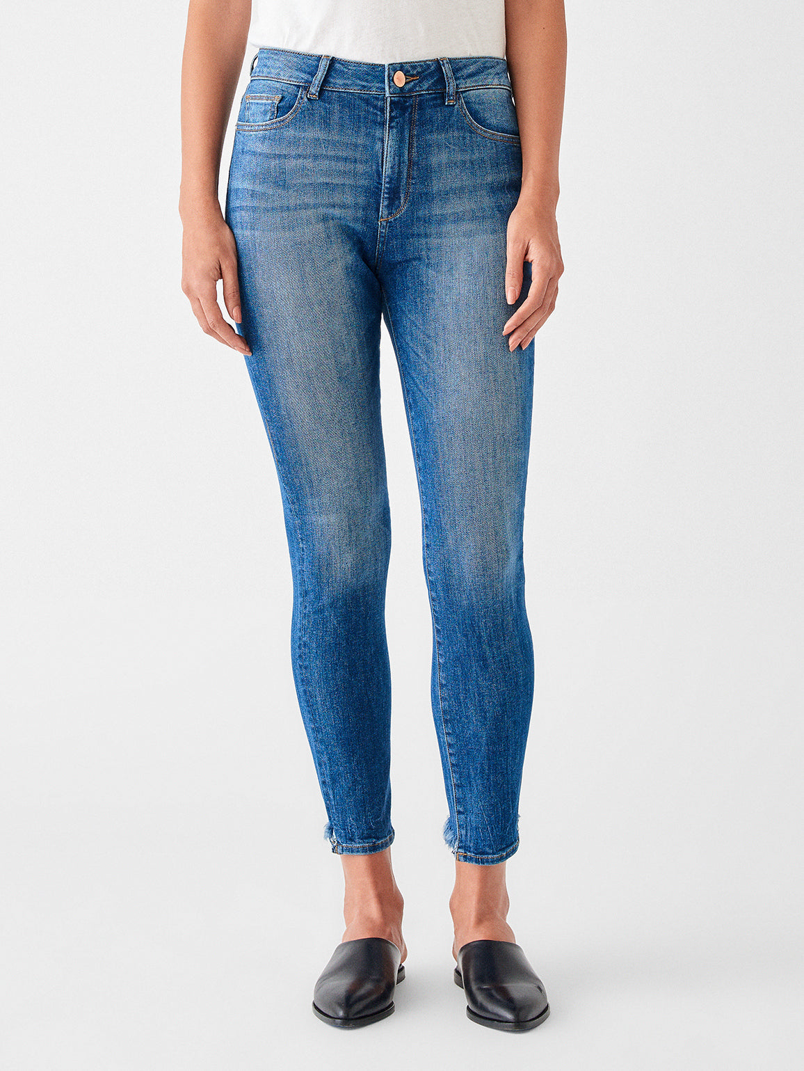 Image of DL1961 Farrow Skinny Jeans