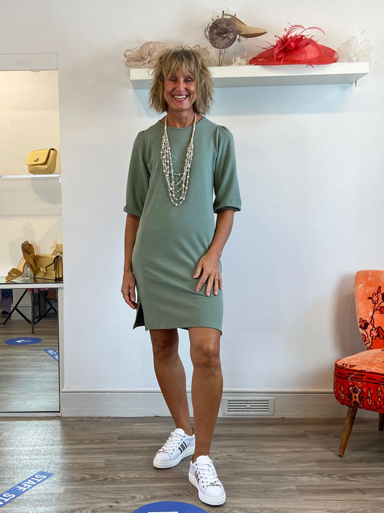 Image of B Young BxPenna Dress Green