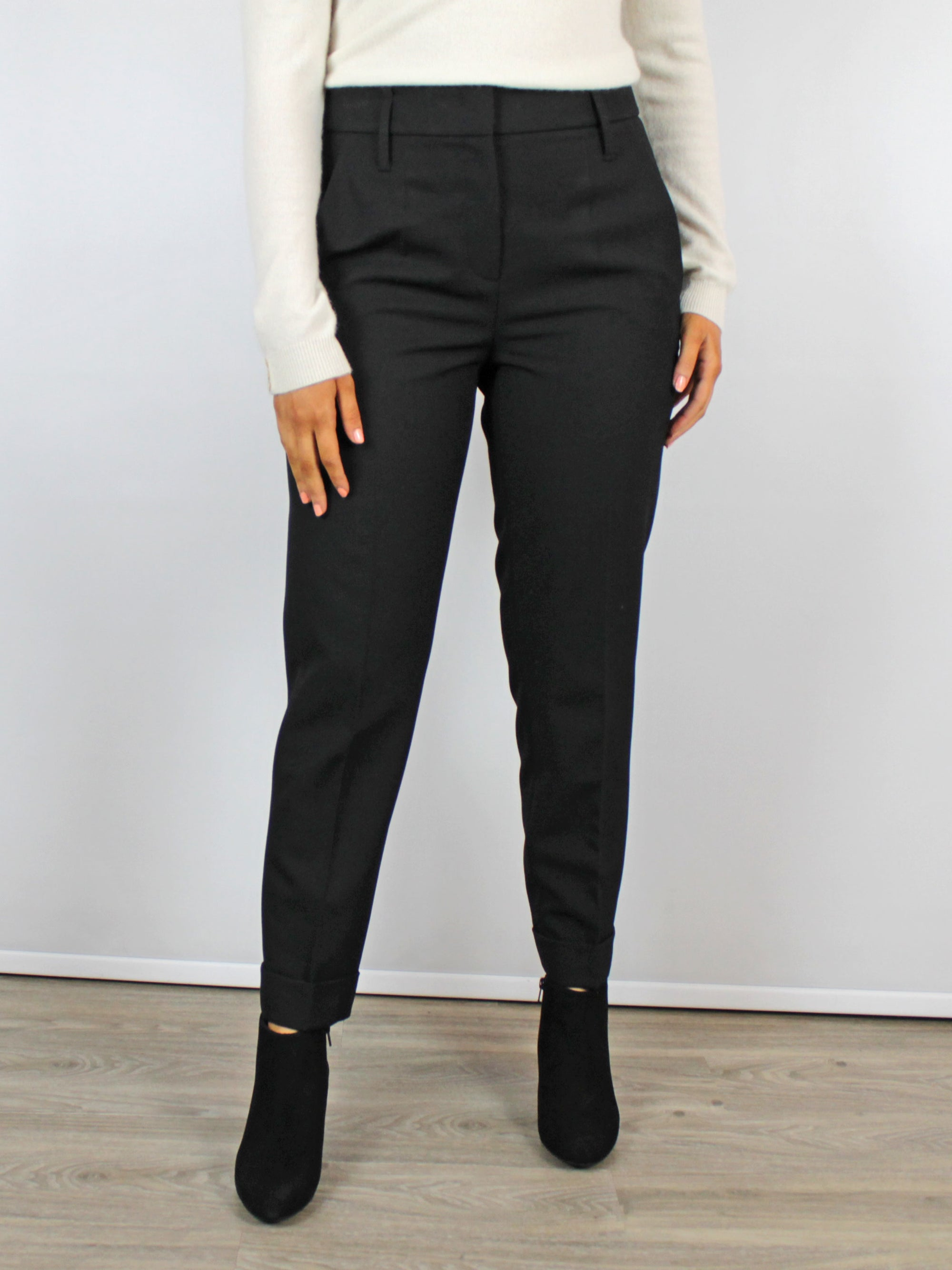 Luisa Cerano Trousers Black