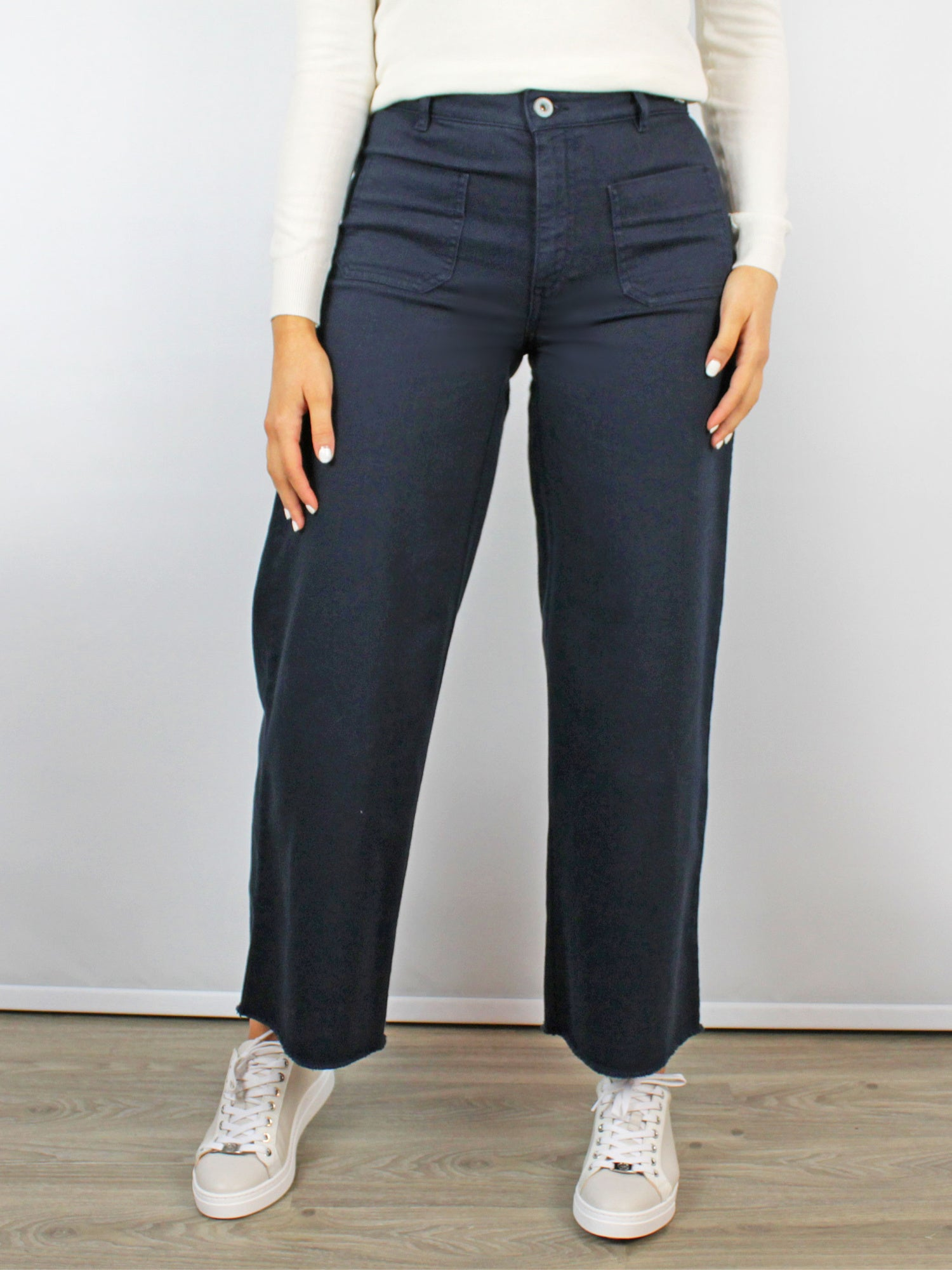 Ottod'Ame Culotte Blue Jeans