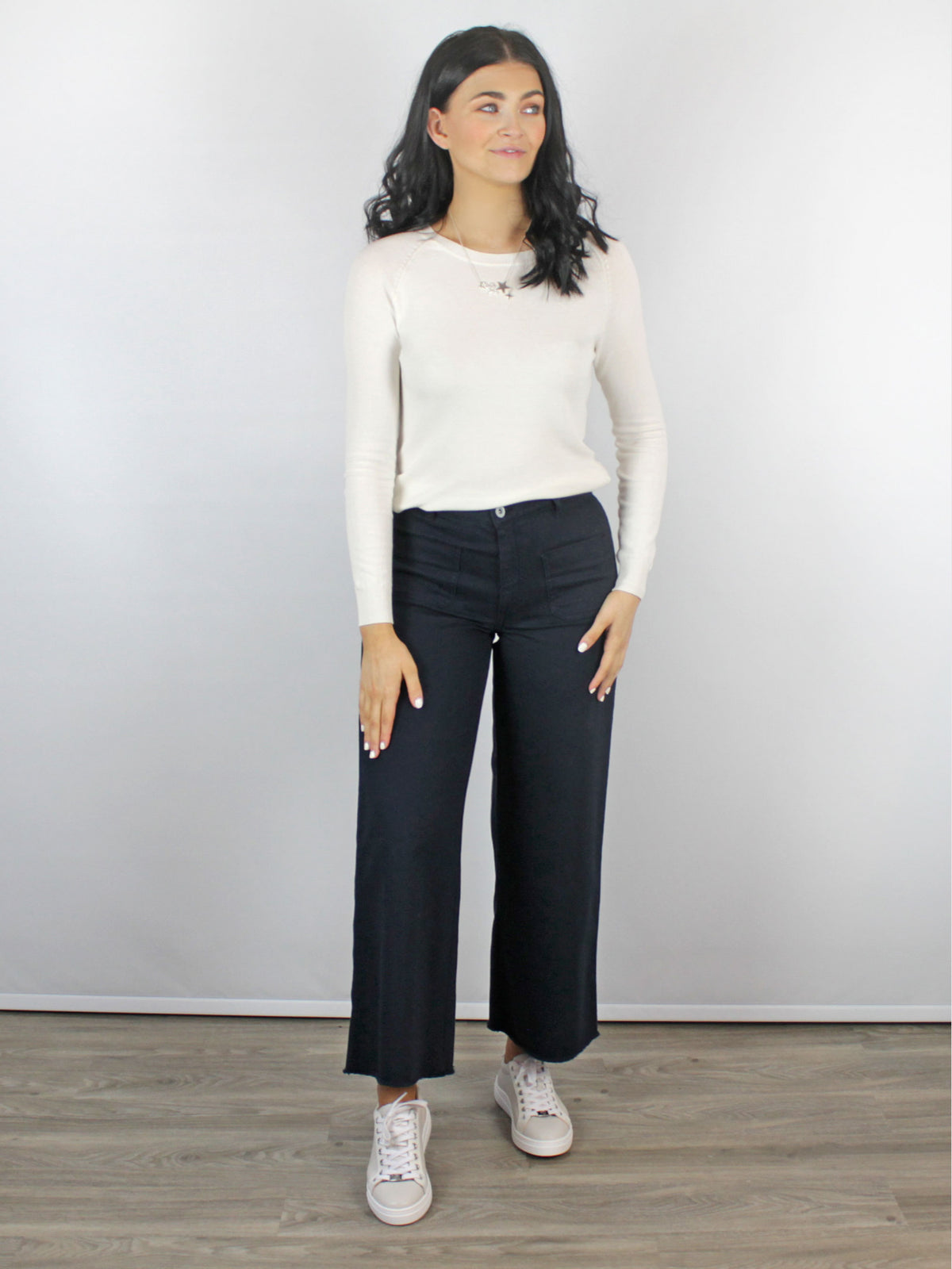 Ottod'Ame Blue Wide Leg Jeans