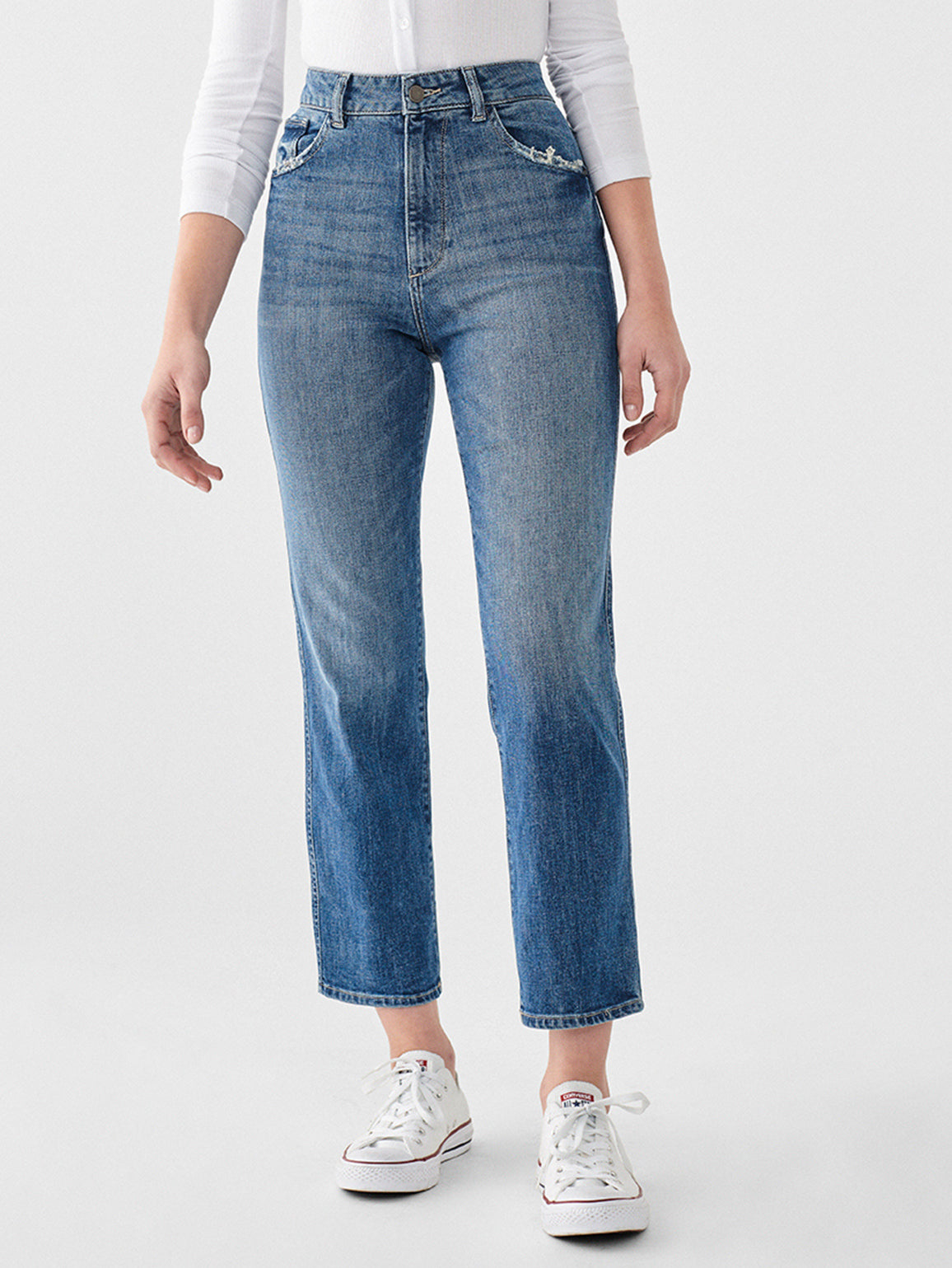 Image of DL1961 Jerry Straight Leg Jeans