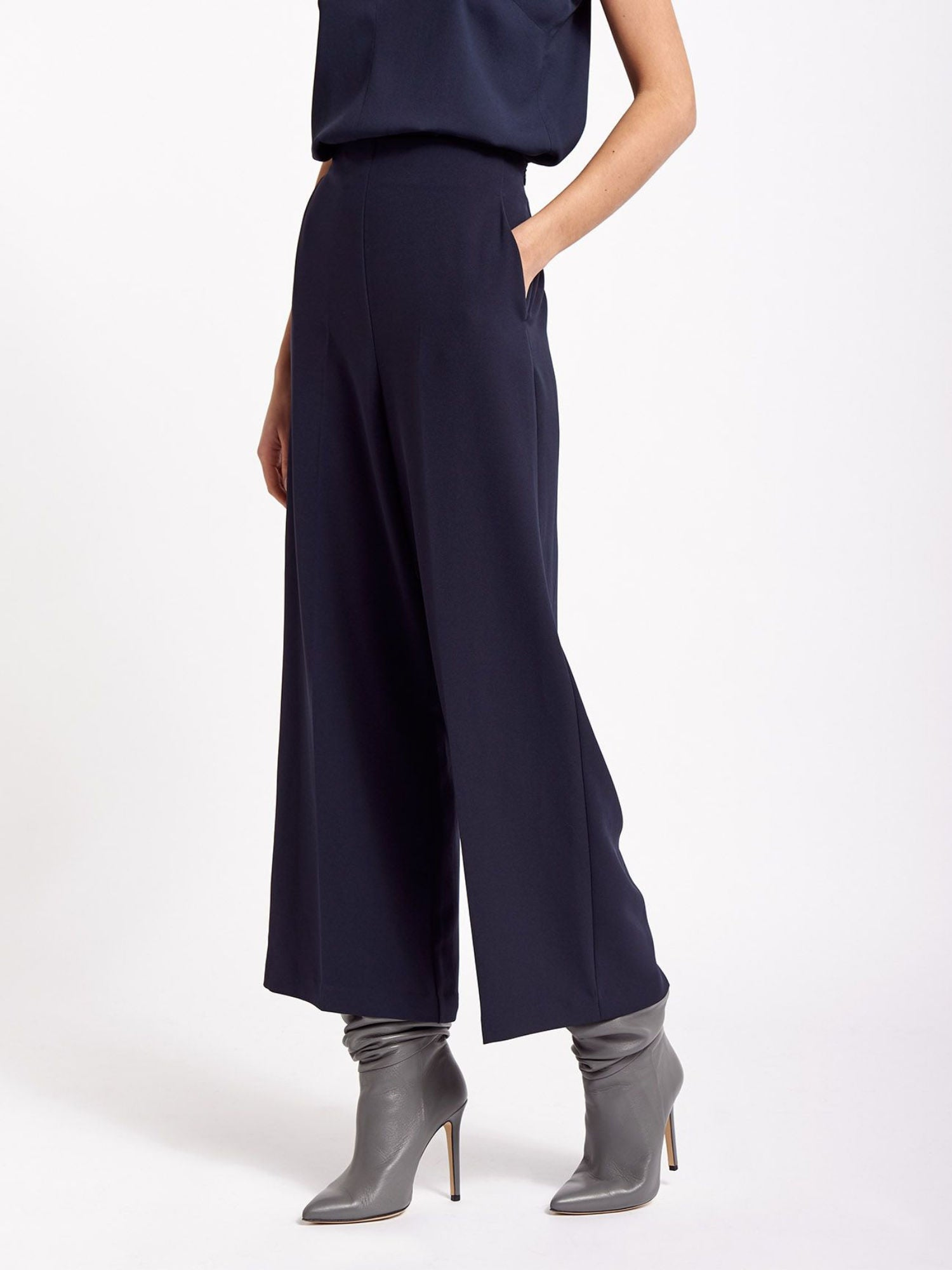 Beatrice B Navy Culottes