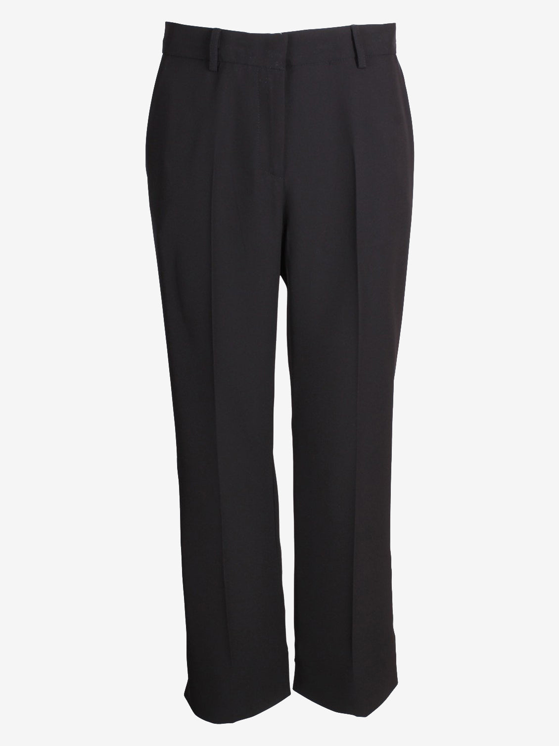 Ottod'Ame Pantalone Cropped Trousers Black