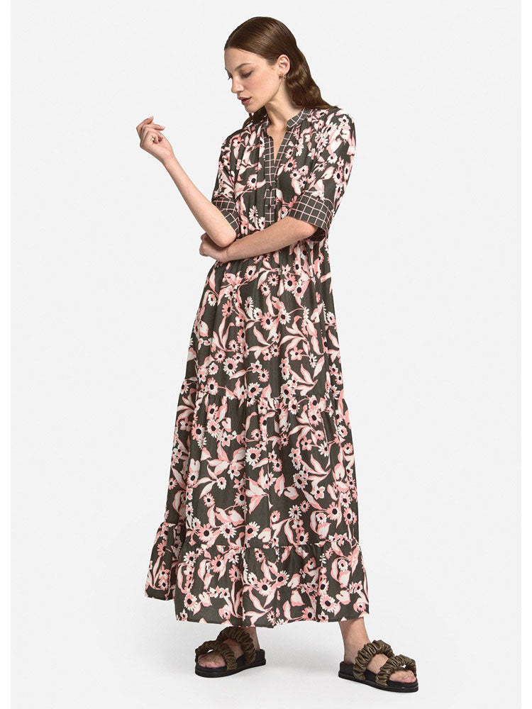 Image of Ottod'Ame Floral Printed Maxi Dress
