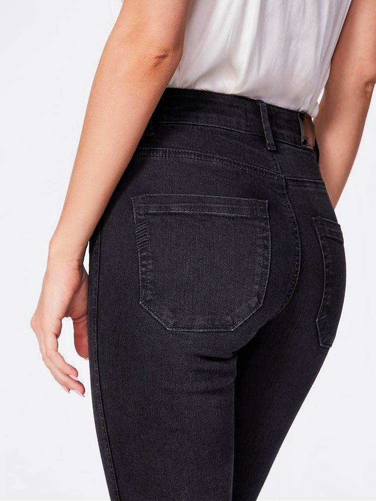 Paige Cindy Straight Seaming Details Jeans