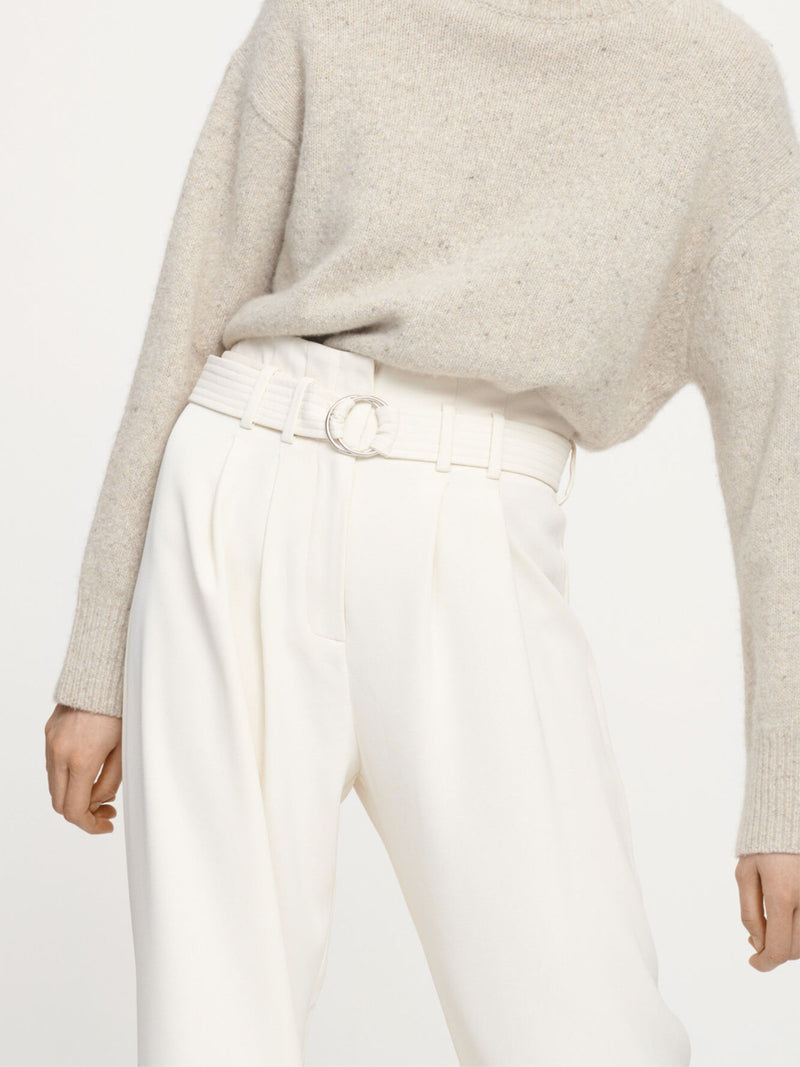 Samsoe & Samsoe Wide Leg Trousers White