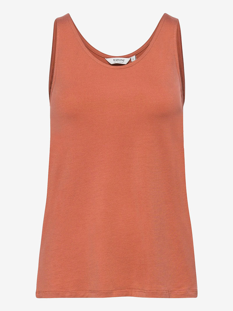 Image of B Young ByRexima Tank Top Etruscan Red