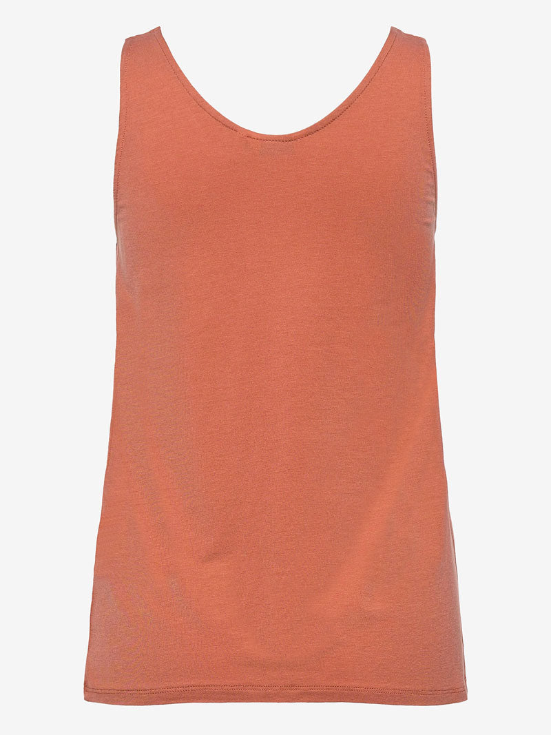 B Young ByRexima Tank Top Red