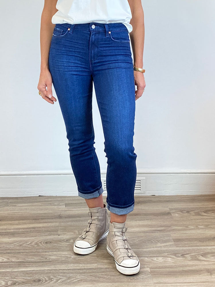 Image of Paige Cindy Straight Jeans Blue