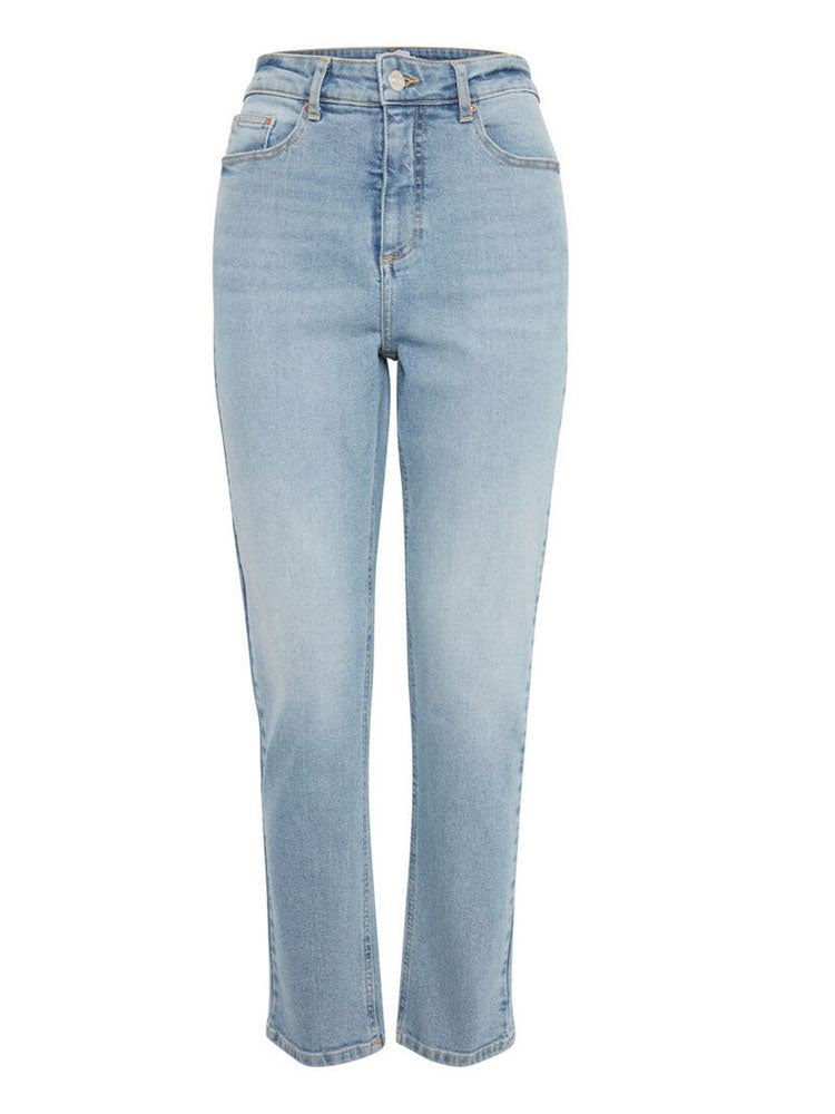 Image of B Young Straight Jeans Light Blue