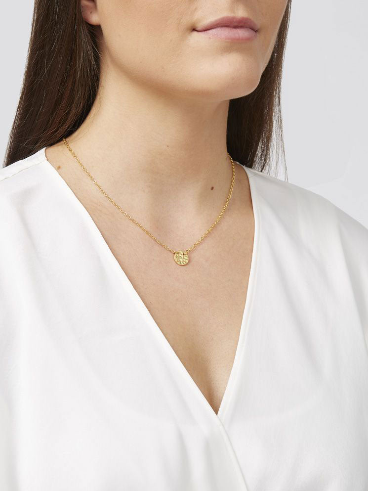 Ashiana Coin Necklace Gold