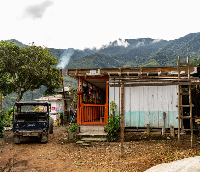 A colombian coffee farm growing single origin coffee beans rather than blends