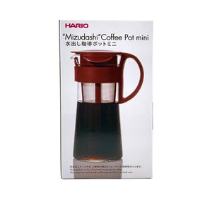 Mizudashi Cold Brew Coffee Pot (HARIO) Hermanos Colombian Coffee Roasters