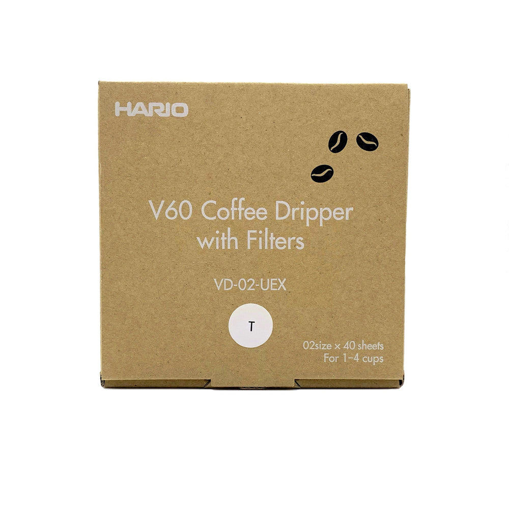 Load image into Gallery viewer, V60 Dripper Set (HARIO) Hermanos Colombian Coffee Roasters
