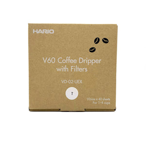 V60 Dripper Set (HARIO) Hermanos Colombian Coffee Roasters