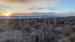 Rural Nevada Winter Sunrise Digital Download