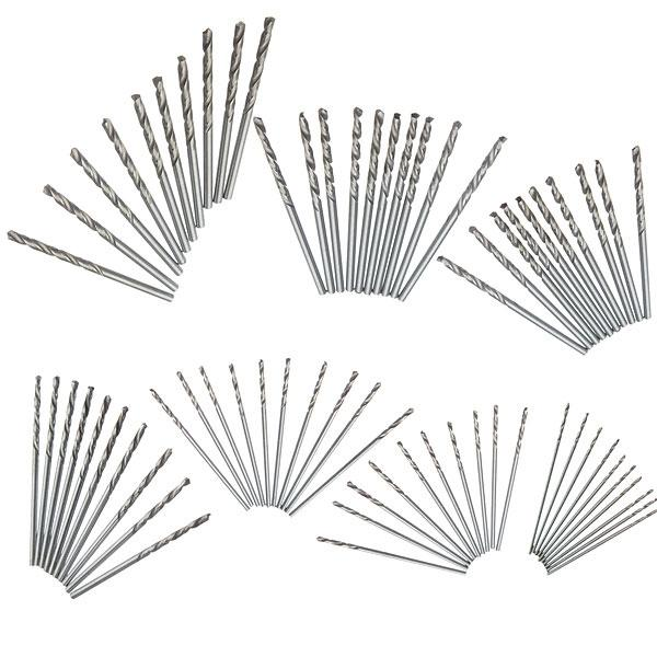 10pcs 2.5mm Micro Straight Shank HSS Twist Drilling Bit