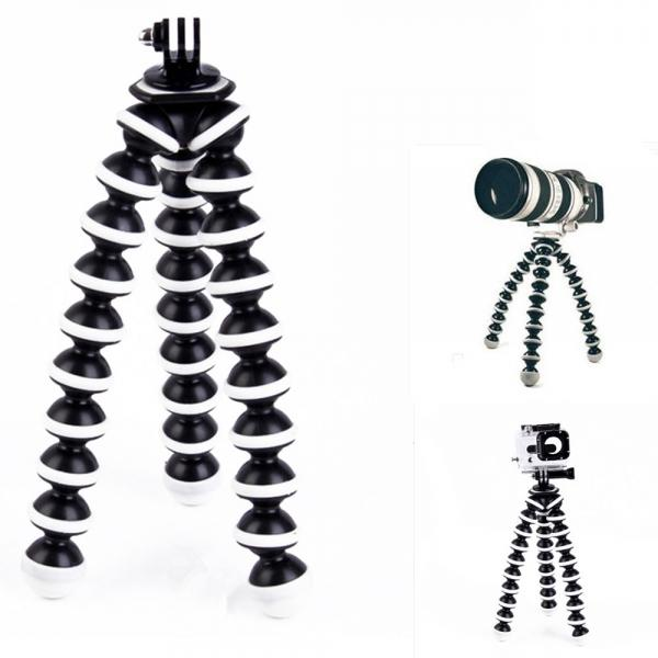 Large Octopus Tripod Mount for Digital Camera/Cellphone/GoPro Hero 3/3 +