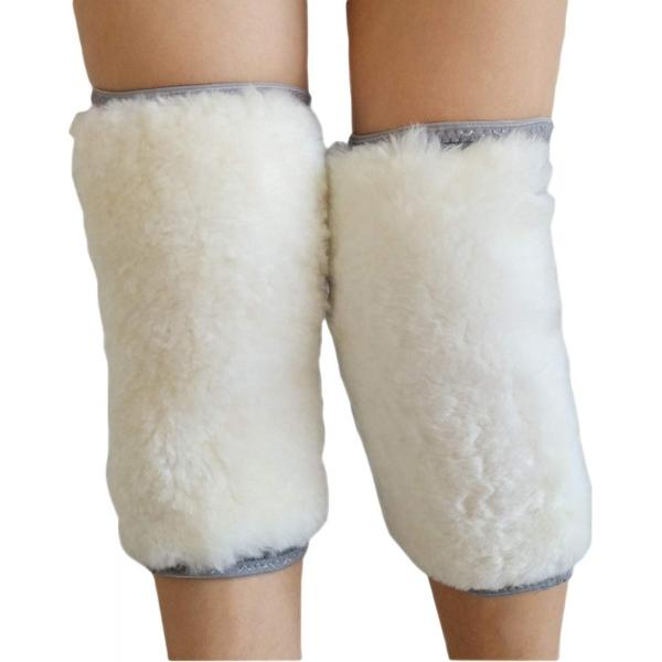 Adult Thicken Cashmere Wool Winter Warm Thermal Grey Knee Warmers Leg Warmers Sleeve Knee Brace Support Pads for Arthritis Dance Yoga - M