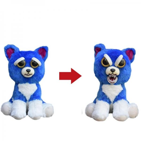 Feisty Pets Plush Toys With Changing Face Stuffed Animal Doll For Kids Gift - #06