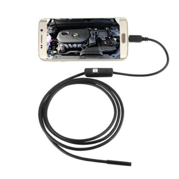 USB Camera Endoscope Waterproof HD 5.5mm 3.5M Snake Tube Mirco Borescope Video Camera Inspection Endoscope for Android