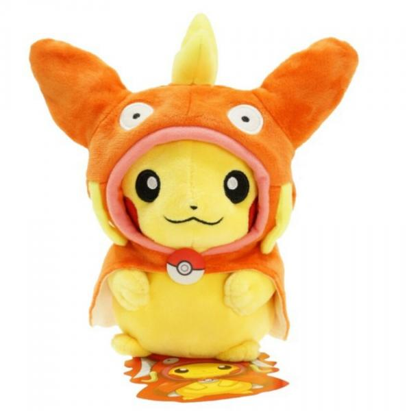 Pokemon Pikachu Plush 8 inch Cartoon Toy Magikarp Orange