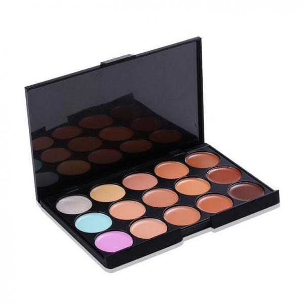 Professional 15 Colors Facial Care Camouflage Makeup Concealer Palette #1