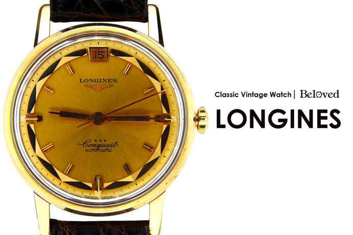 Classic Vintage Watch | Longines Conquest & Grand Prize