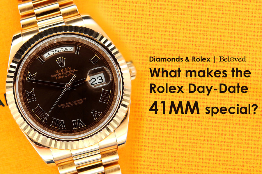 Modern Rarity | Rolex 41MM Day-Date 218235