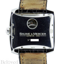 Load image into Gallery viewer, Baume & Mercier Hampton Spirit Moonphase Date-Day 8487 Caseback Image 3