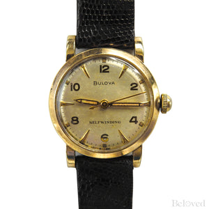 Bulova Self Winding 10K Gold Filled 10CSC