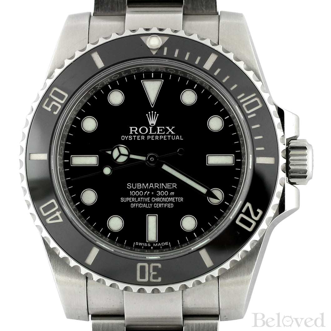 Rolex Ceramic Submariner 114060