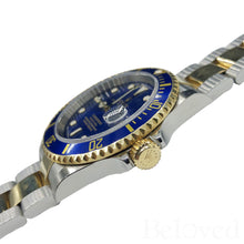Load image into Gallery viewer, Rolex Submariner 16613 Inner Bezel Engraving Image 6