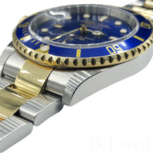 Load image into Gallery viewer, Rolex Submariner 16613 Inner Bezel Engraving Image 9