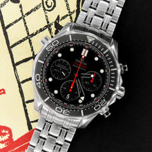 Load image into Gallery viewer, Omega Ceramic Seamaster Chronograph 212.30.42.50.01.001