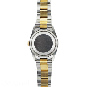 Rolex Datejust 16233 Champagne Fluted Bezel Image 7