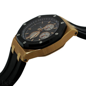 Audemars Piguet Royal Oak Offshore Rose Gold & Black Ceramic Chronograph 26401RO.OO.A002CA.01