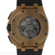 Load image into Gallery viewer, Audemars Piguet Royal Oak Offshore Rose Gold & Black Ceramic Chronograph 26401RO.OO.A002CA.01