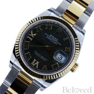 Rolex Datejust 126233 Green Sunburst Dial with Factory Diamond Six and Nine Image 3