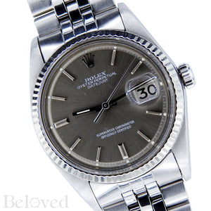 Rolex Datejust Grey Sigma Dial 1601 Image 2