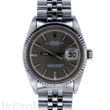 Load image into Gallery viewer, Rolex Datejust Grey Sigma Dial 1601 Image 1