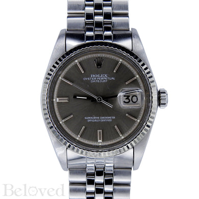 Rolex Datejust Grey Sigma Dial 1601 Image 1