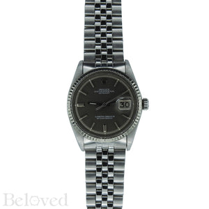Rolex Datejust Grey Sigma Dial 1601 Image 3