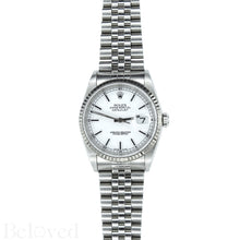 Load image into Gallery viewer, Rolex Datejust 16234 White Dial with Box and Papers Image 2